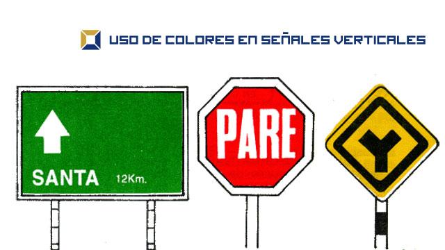 u00bfqu u00e9 significan los colores utilizados en se u00f1ales verticales
